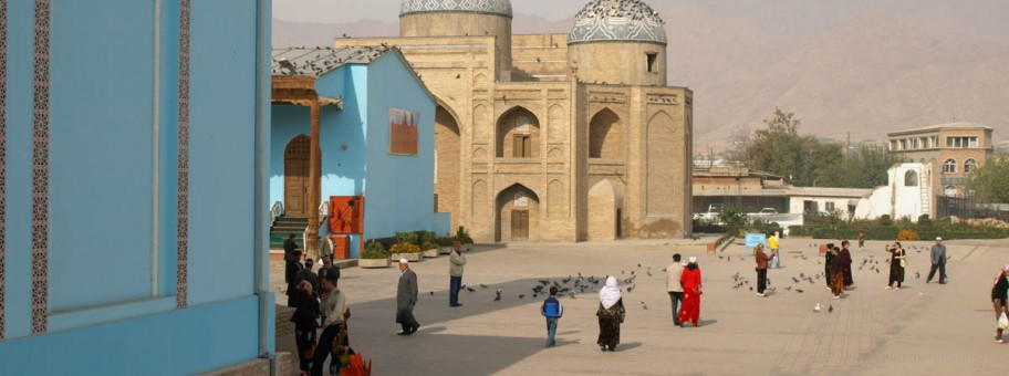 Central Square, Khujand, Tajikistan.  © Christopher Swift 2012