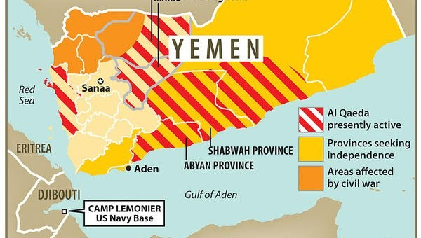 Yemen Map