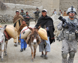 U.S. Soldier in Afghanistan